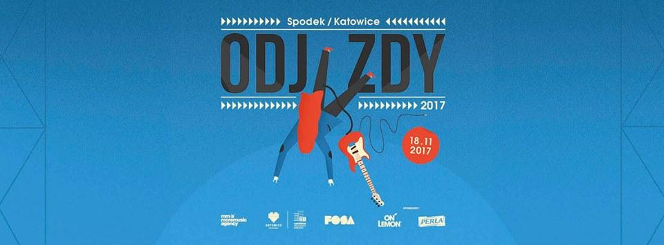 Plakat promujący Festiwal Odjazdy w Katowicach