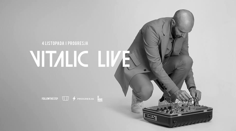 Plakat promujący koncert Vitalica
