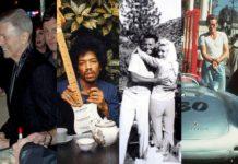 Cztery zdjęcia przedstawiające gwiazdy przed śmiercią