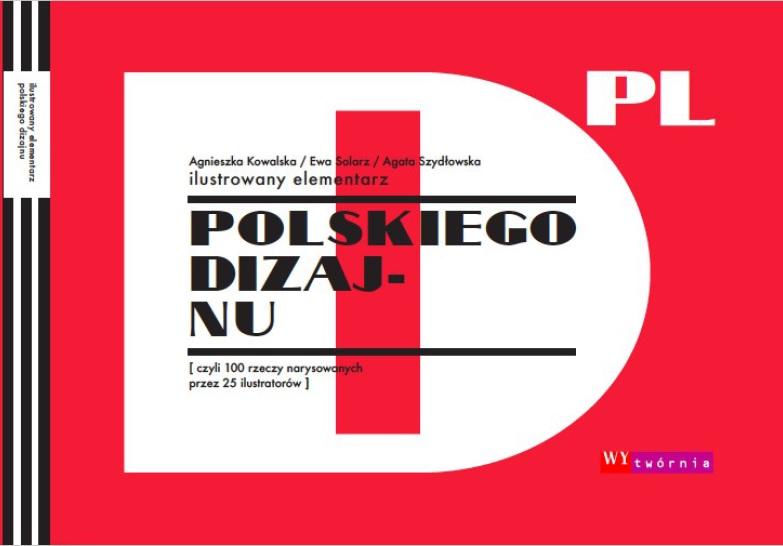 Elementarz Polskiego Designu, okładka