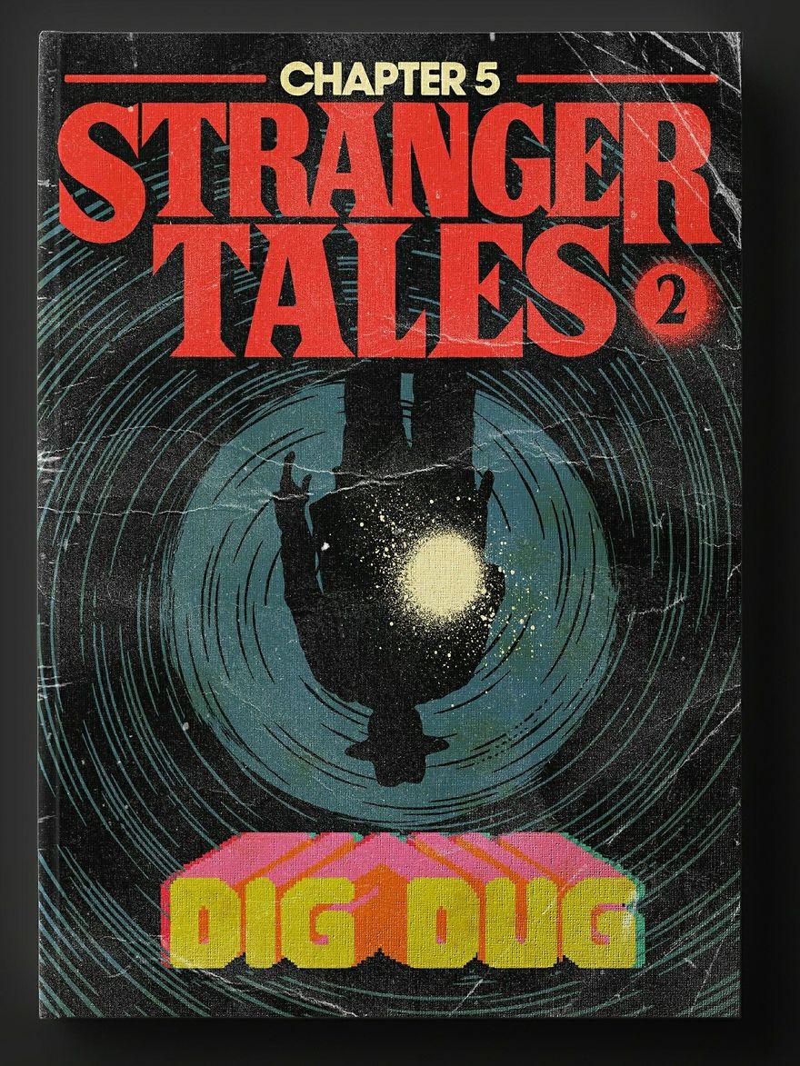 Okładki do serialu Stranger Things