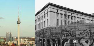 Dwa zdjęcia przedstawiające Berlin