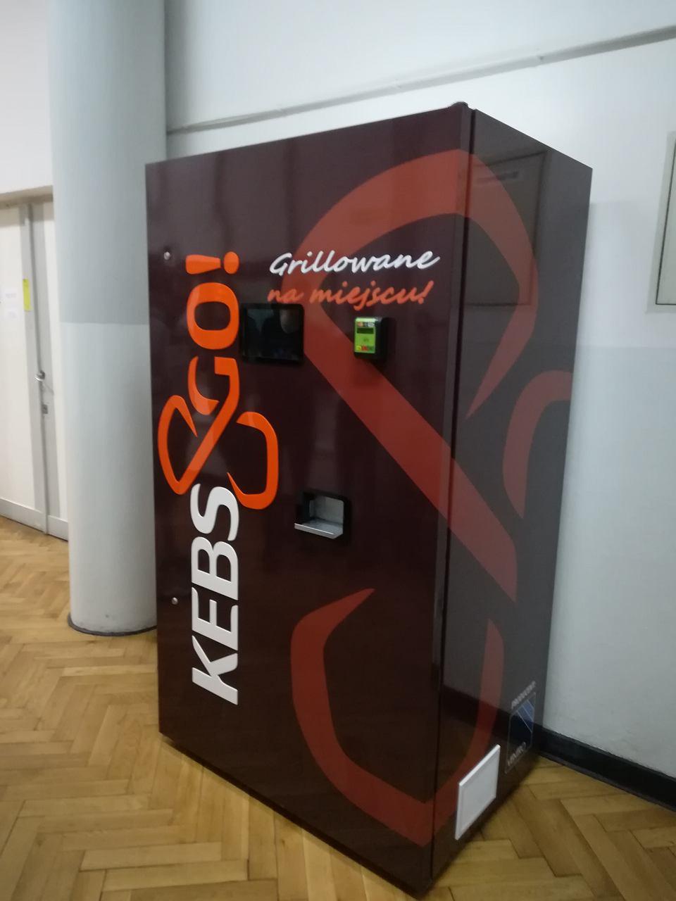 Automat z kebabem