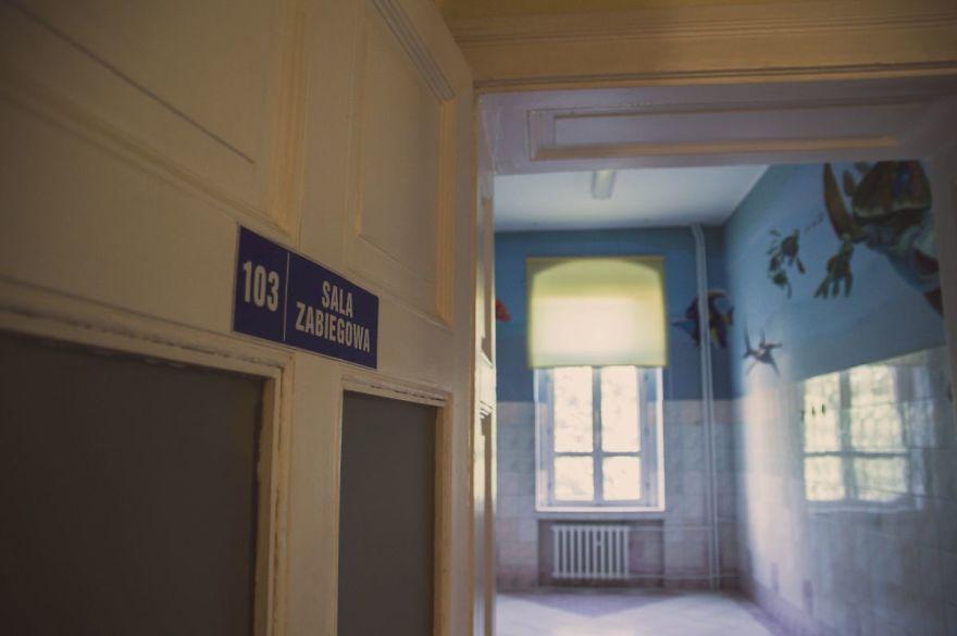 Zdjęcie z opuszczonego szpitala