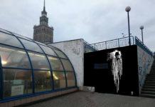 Wizualizacja przedstawiająca mural z Czarnym Romanem