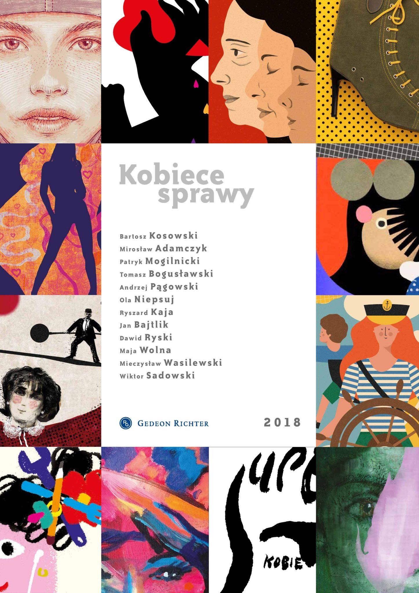 Kobiece Sprawy - Kalendarz Artystyczny Gedeon Richter_okladka