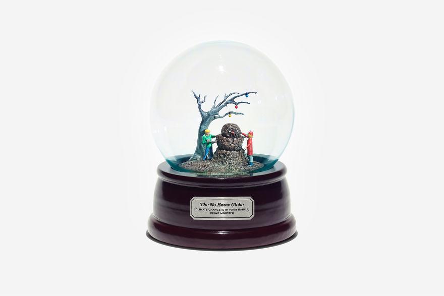 Szklana kula śniegowa