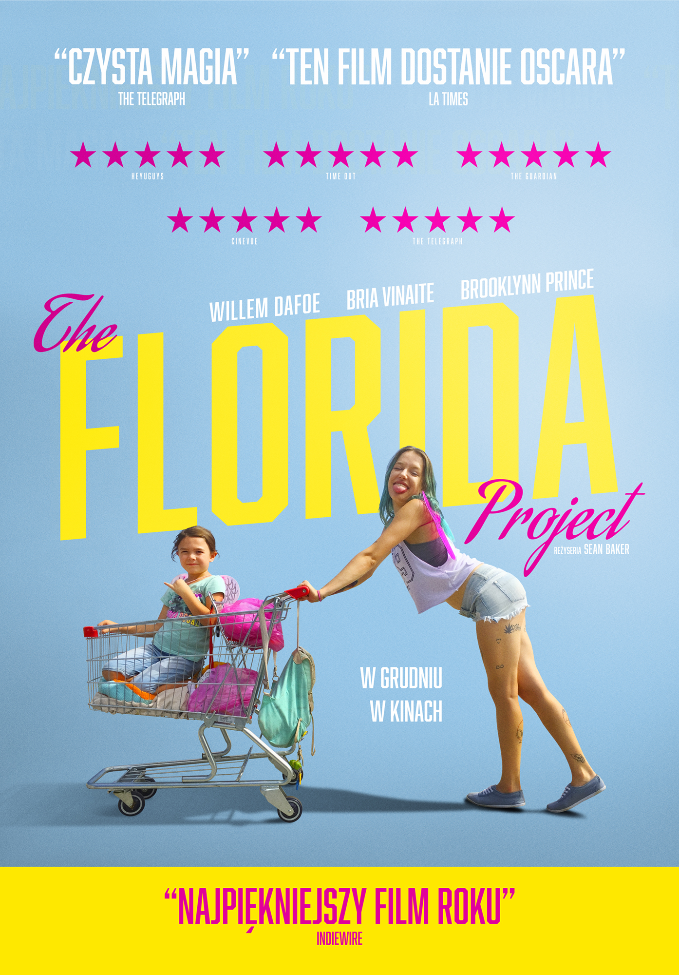 Plakat filmu The Florida Project
