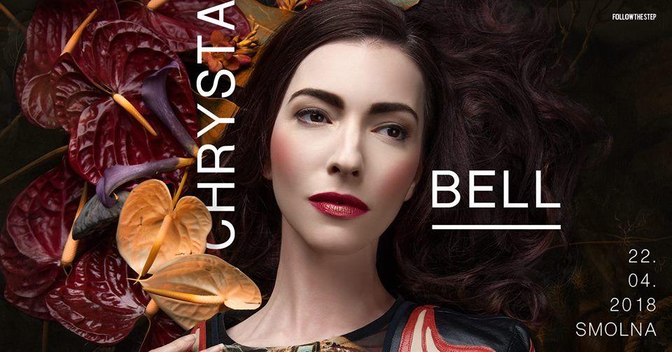 Plakat promujący komncert Chryta Bell na Smolnej