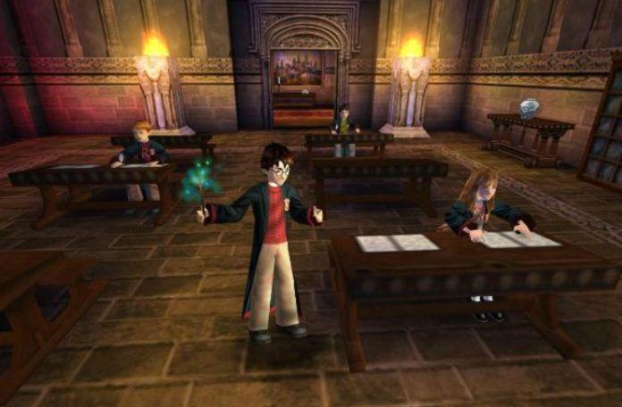 Zrzut ekranu z gry o Harrym Potterze