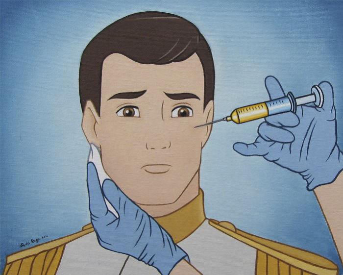 Książe Disney'a, któremu ręka robi botoks