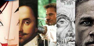 5 postaci na jednej ilustracji