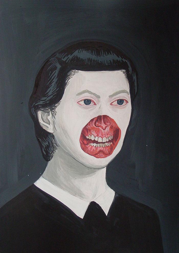 Surrealistyczny portret