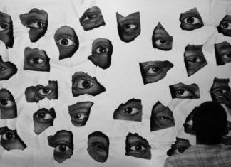 rysunek przedstawia powydziarne ujęcia oczu