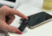 Najmniejszy telefon na świecie