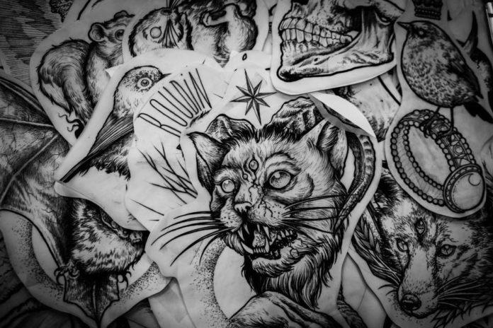 Francuski Artysta Tworzy Najbardziej Przerażające Tatuaże