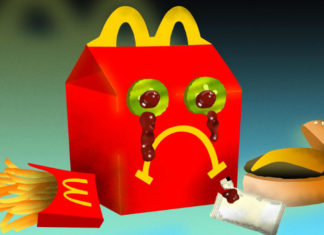 Smutne pudełko od Happy Meala