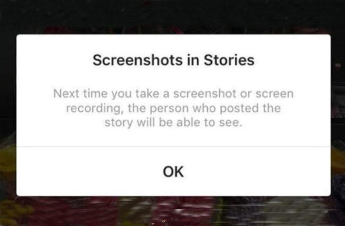Zrzut ekranu z Instagrama