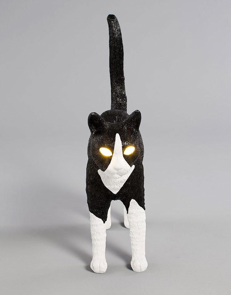 Lampa w kształcie kota