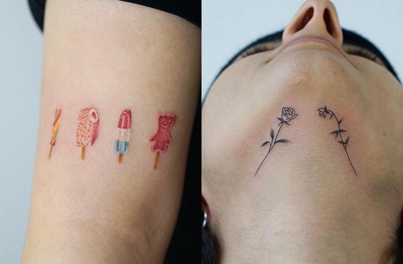 Tatuaże Które Wyglądają Jak Estetyczne Bazgroły Magazyn Hiro