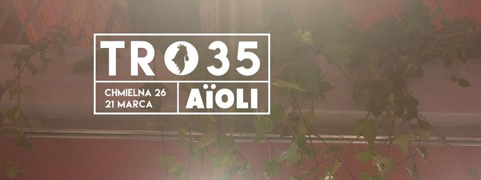 Plakat zapowiadający Technoranek w AIOLI
