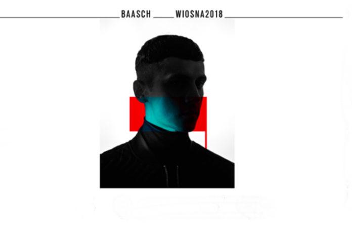 Plakat promujący wiosenną trasę baascha