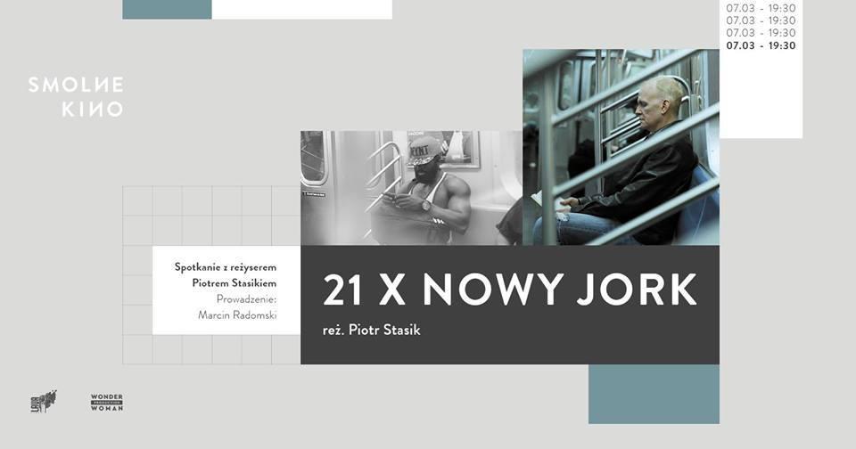 Plakat trzeciej edycji cyklu Smolne Kino