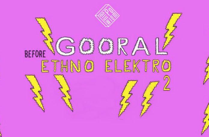 Plakat promujący koncert Goorala