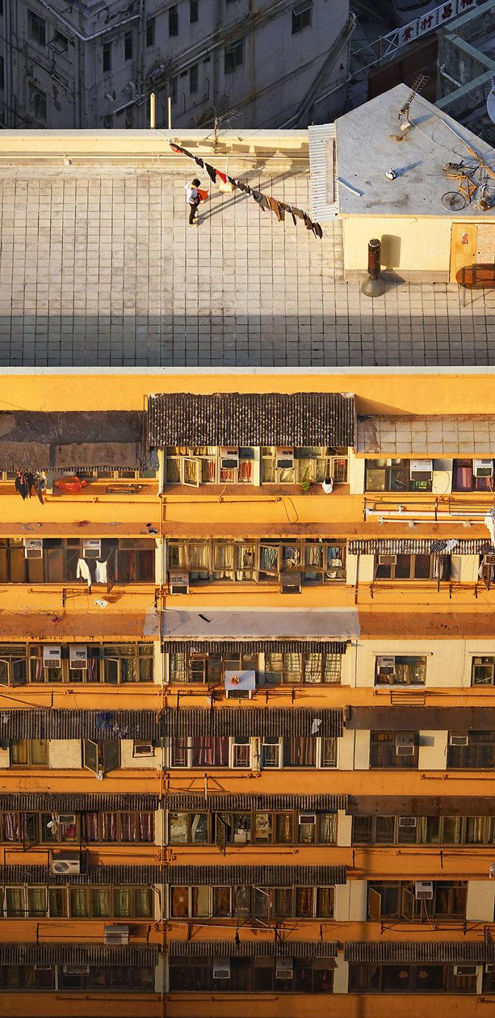 Zdjęcie balkonów