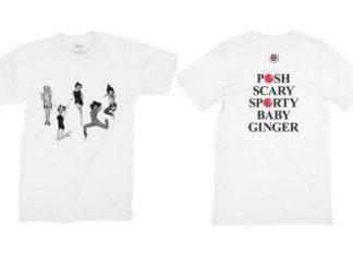 Biała koszulka z wizerunkiem Spice GIrls