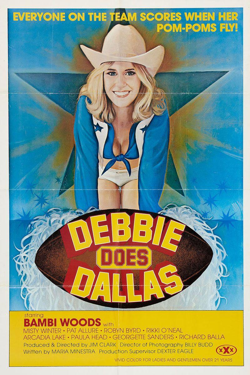 Plakat filmu pornograficznego Debbie Does Dallas