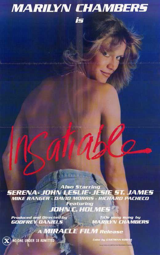 Plakat starego filmu porno pod tytułem Insatiable