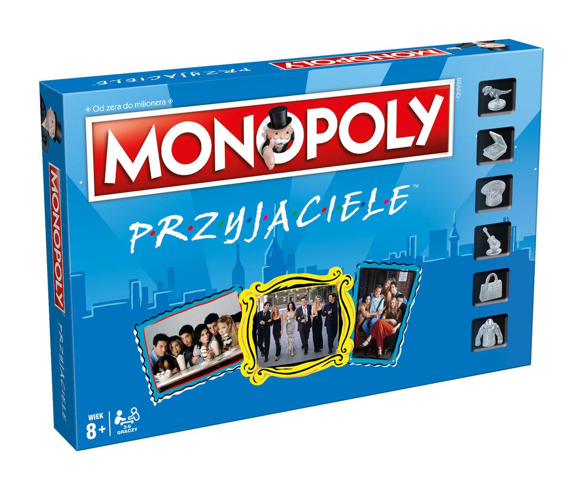 Pudełko gry Monopoly Przyjaciele