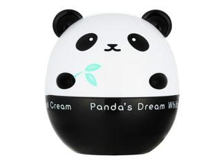 Opakowanie do kremu do twarzy w kstałcie pandy