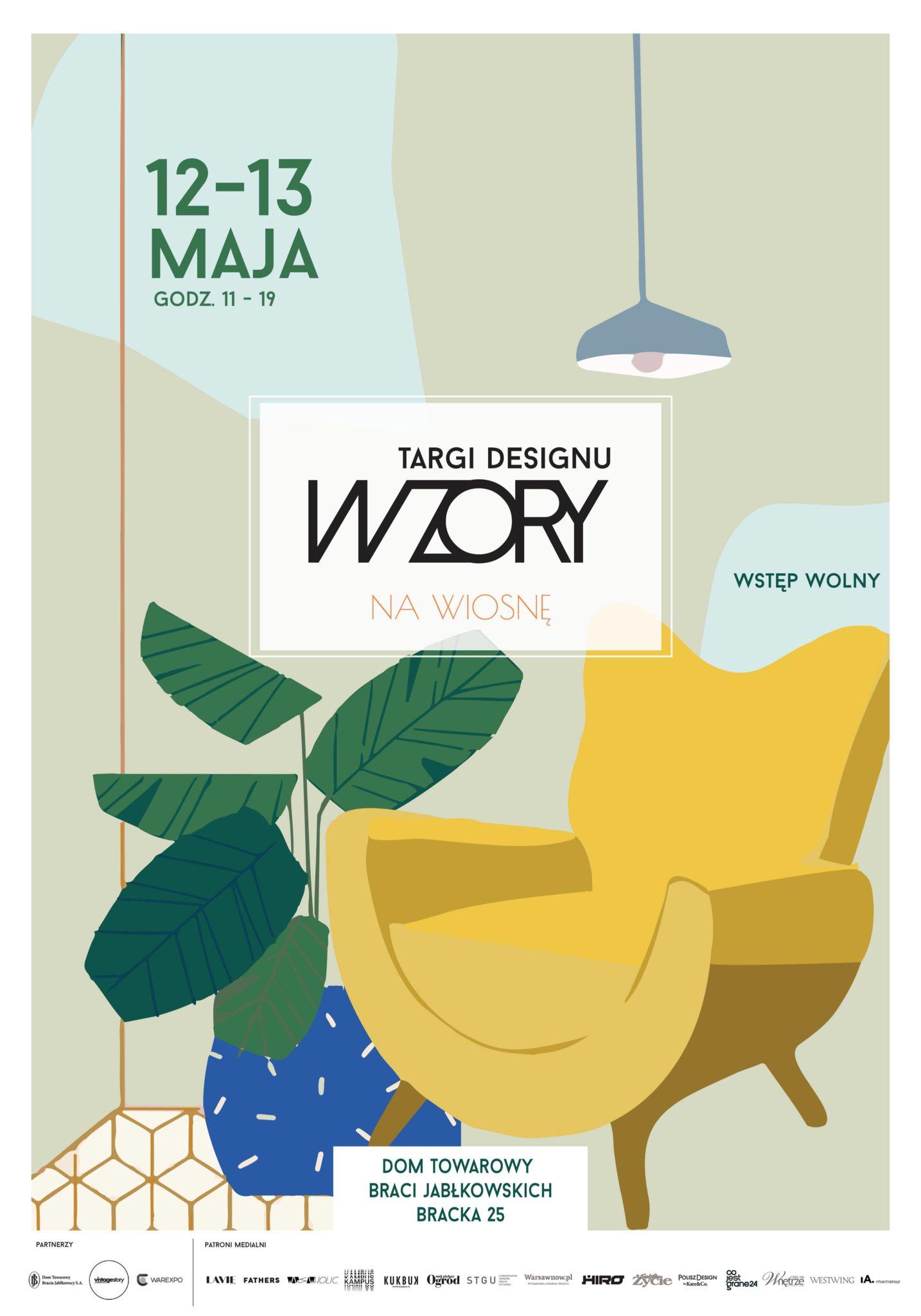Plakat targów Wzory
