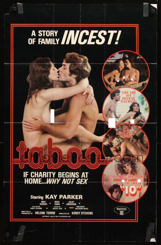 plakat promujacy film porno taboo