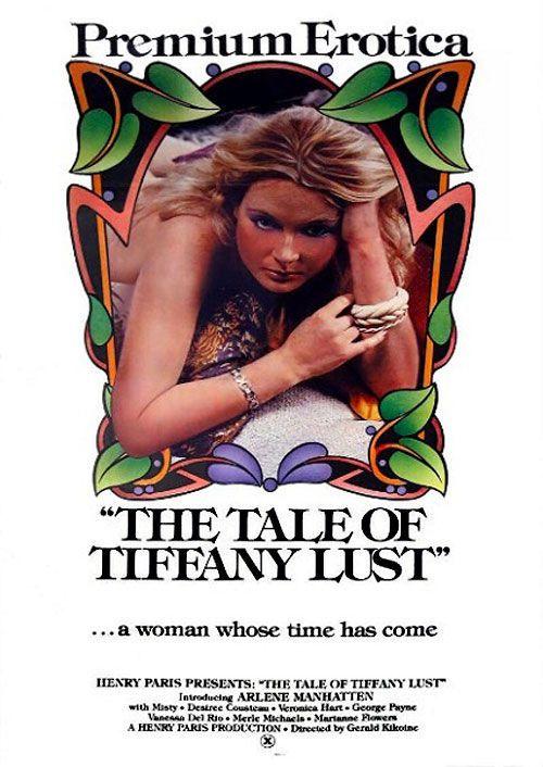 Plakat promujacy film porno The Tale of Tiffany Lust