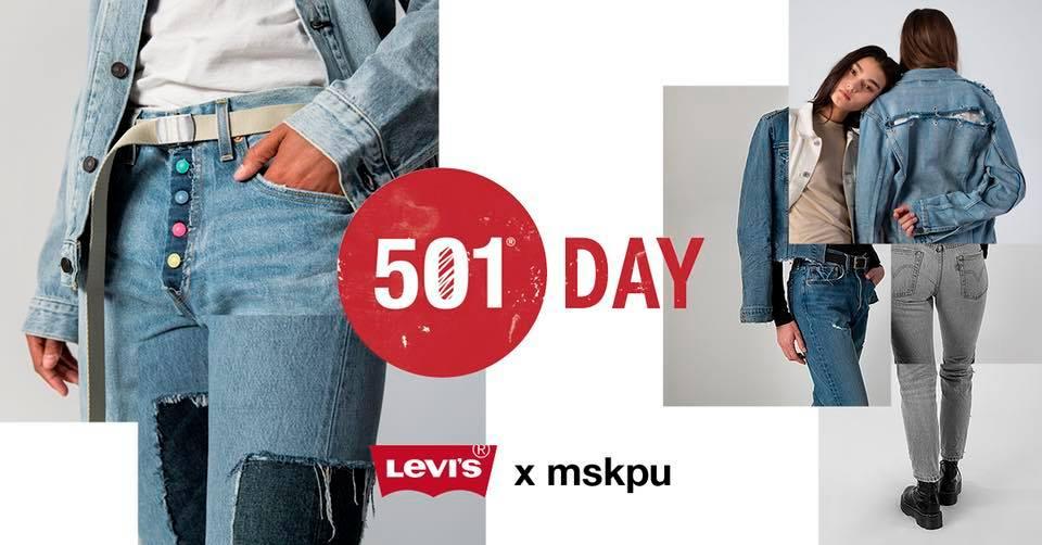 Poster reklamujący 501 Lab