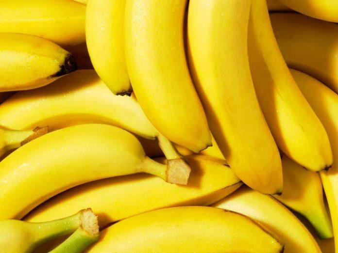 Zbliżenie na banany