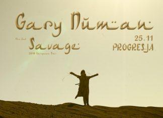 Plakat koncertu Gary Numan
