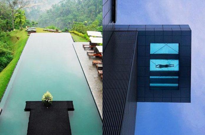 Dwa baseny