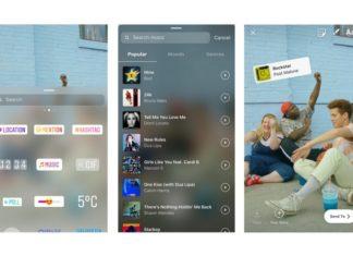 Trzy zrzuty ekranu z aplikacji Instagram