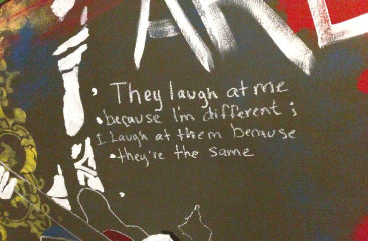Obraz stworzony przez Kurta Cobaina