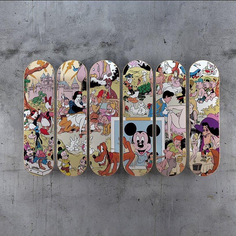 Deskorolki z motywem Disneya