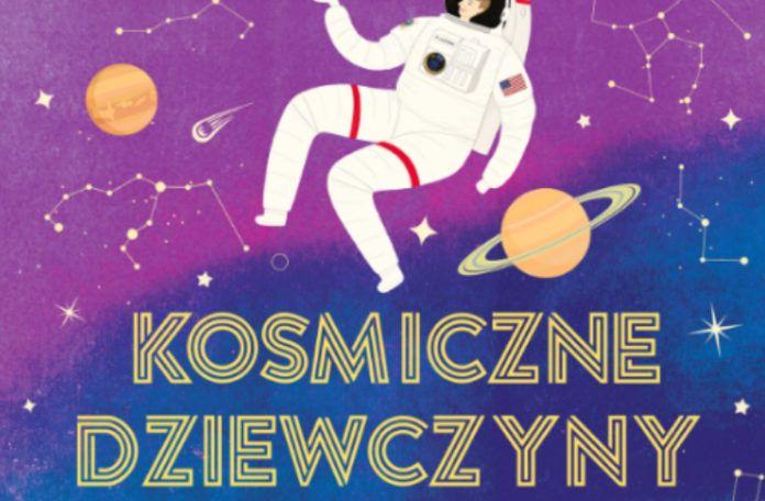Okładka książki kosmiczne dziewczyny