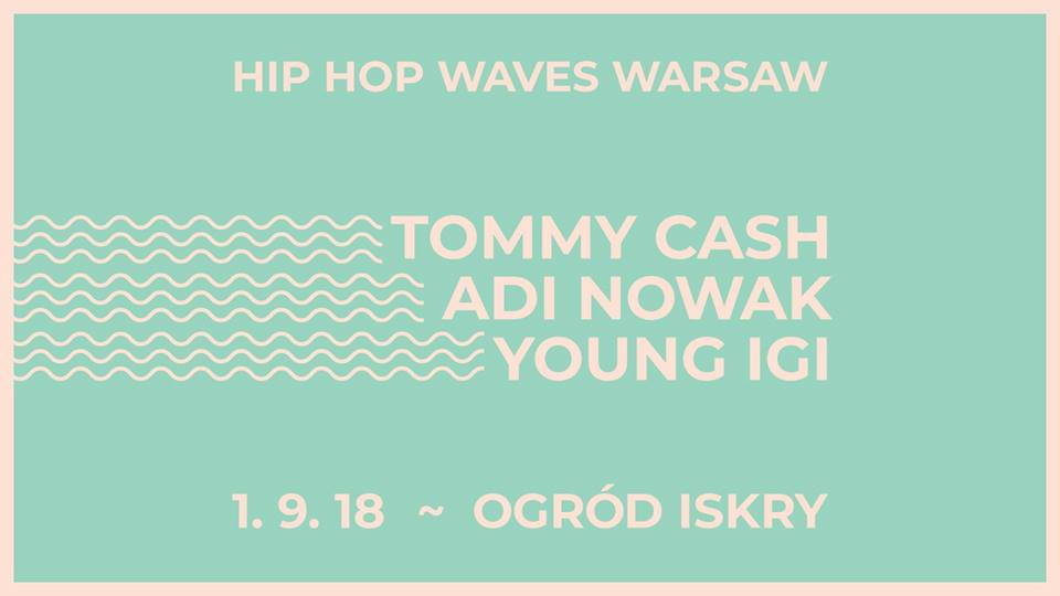Plakat Hip Hope Wave Warsaw