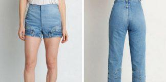 """Spodnie krótkie i długie """"do góry nogami"""""""