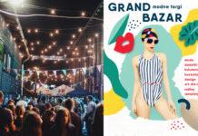 Plakat Grand Bazar i zdjęcie targu