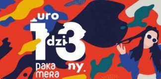 Plakat 13 urodzin pakamera