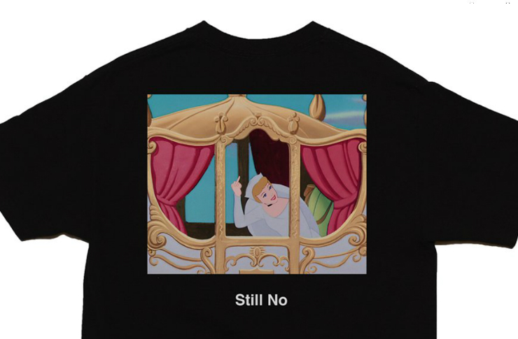 Czarna koszulka z księżniczką Disney'a